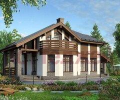 Проект дома 40-16