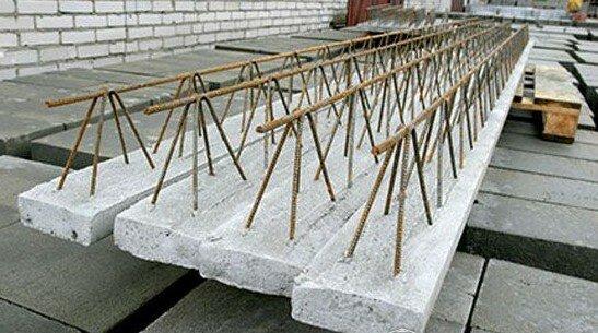 Перекрытие первого этажа из пустотелых блоков